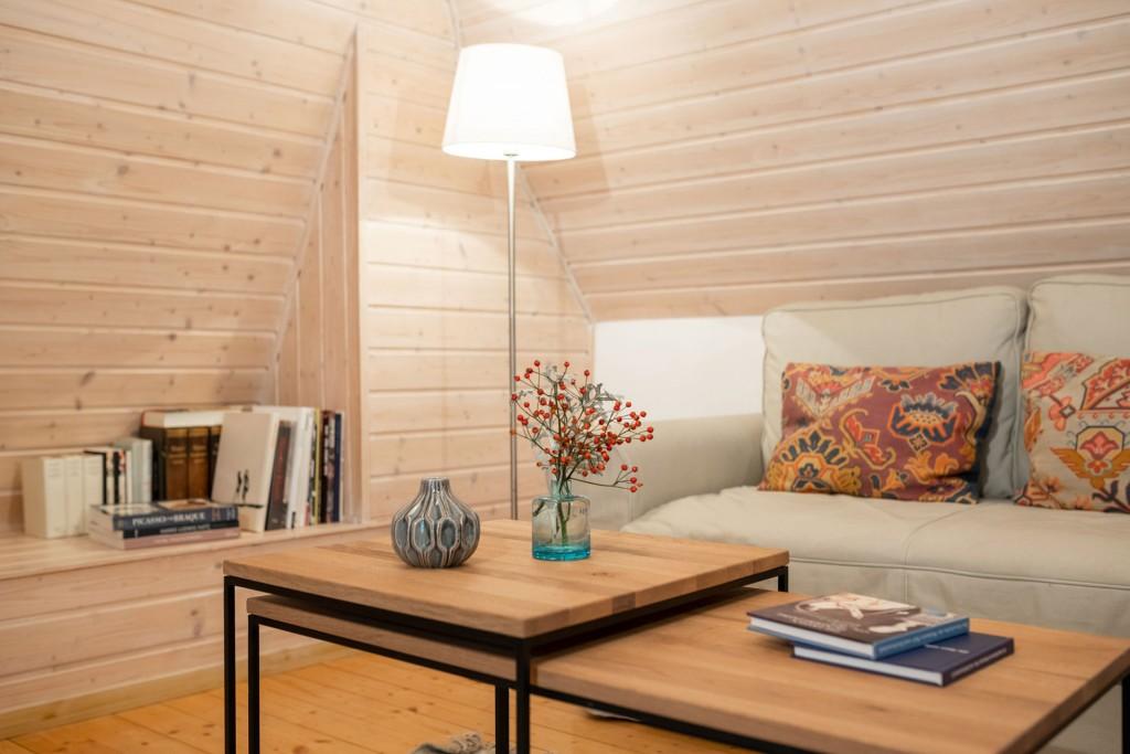 Appartement Wohnbereich Sitzecke
